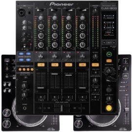 DJ Equipment leihen set pioneer