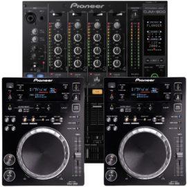 DJ Equipment Set mieten München
