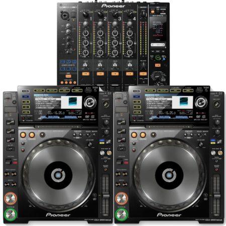 CDJ DJM DJ Anlage vermietung münchen