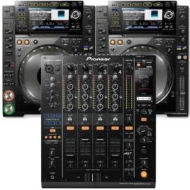 CDJ DJM DJ Anlage mieten münchen