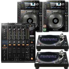 DJ Technik Set mieten München