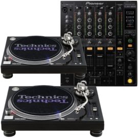 DJ Bundle 1210 Technics + DJm 800 ausleihen