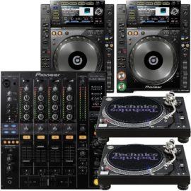 DJ-Equipment Set's/ DJ Technik Bundle