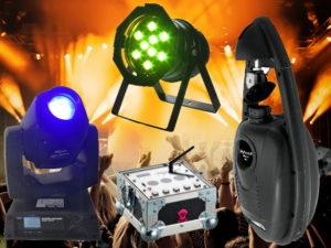 Eventtechnik mieten Lichtanlage