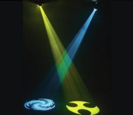 Lichteffekt party Scanner mieten