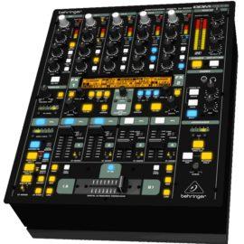 mischpult dj mixer ausleihen ddm