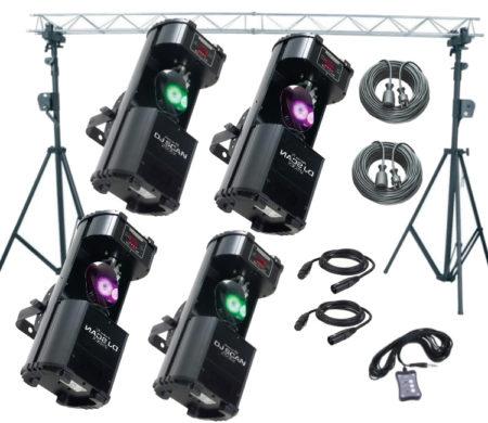partylichter verleih scanner set